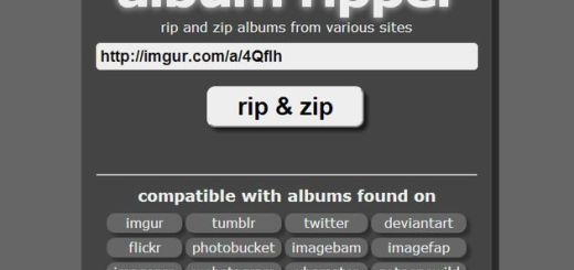 Album Ripper: web para descargar lotes de imágenes de múltiples sitios
