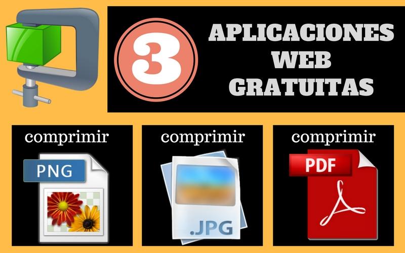 3 aplicaciones web para comprimir imágenes PNG, JPG y documentos PDF
