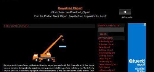 ClipArtLord, gran colección de cliparts gratuitos para usar libremente en cualquier proyecto