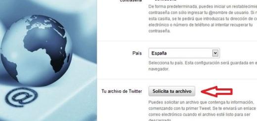 Por fin disponible, en español, la descarga de todos los tweets que has publicado en Twitter