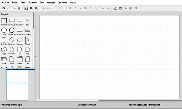 Draw.io: un diseñador de diagramas online y gratuito