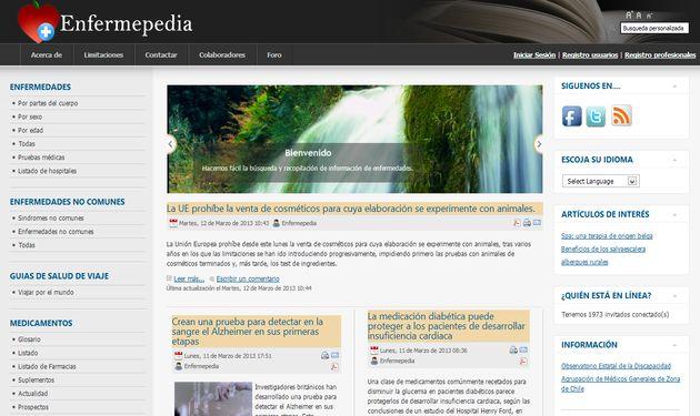 Enfermepedia: gran enciclopedia de la salud con listado de enfermedades, medicamentos, hospitales y farmacias