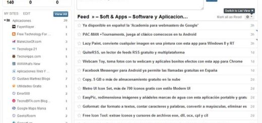 Feedspot: otra alternativa más para sustituir a Google Reader