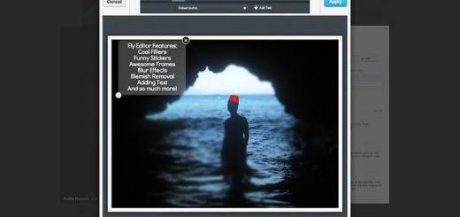 Fly Photo Editor for Facebook, edita tus fotos de Facebook con esta extensión para Chrome