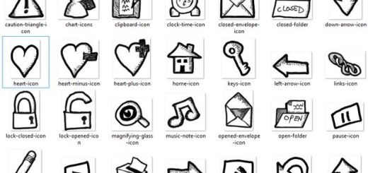 Free Hand-Drawn Website Icons