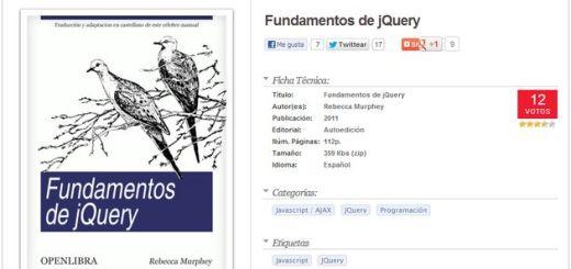 Un eBook para aprender los fundamentos de jQuery que se puede  leer online o descargar como PDF