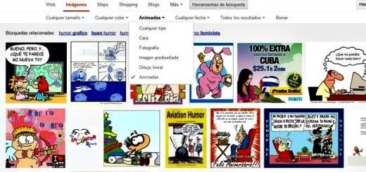 Google Images habilita la búsqueda de imágenes animadas en formato GIF