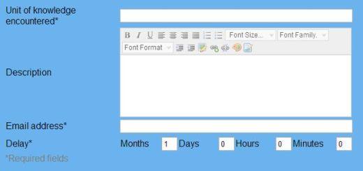Learning Reminder, servicio para enviarte recordatorios al correo electrónico