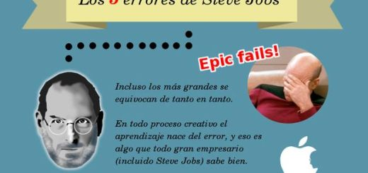 Los cinco errores de Steve Jobs
