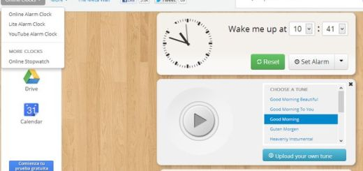 Metaclock, cronómetro y despertador personalizable y online