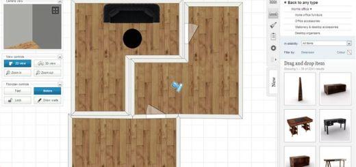 Mydeco 3D, diseño de interiores en 2D y 3D con esta utilidad web gratuita