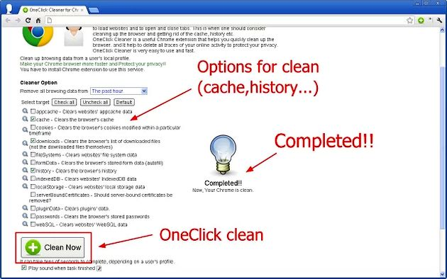 OneClick Cleaner
