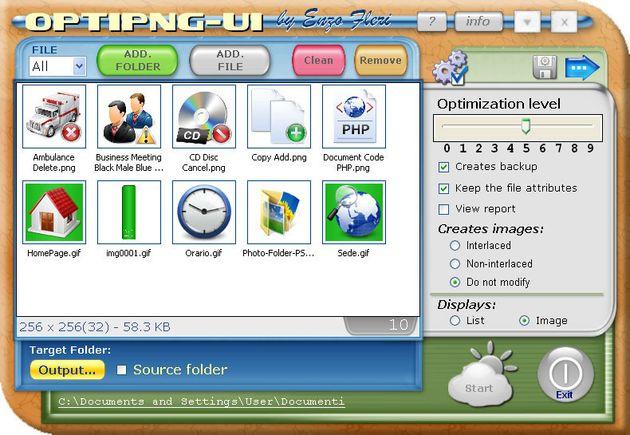 OptiPNG-UI: software gratuito para optimizar imágenes PNG