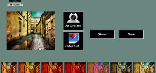Photomatic, más de una veintena de efectos para decorar tus fotos en una app gratuita para Windows 8