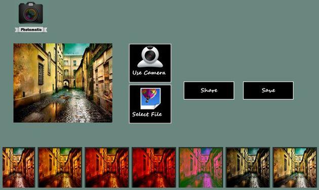 Photomatic m s de una veintena de efectos para decorar - App decorar fotos ...