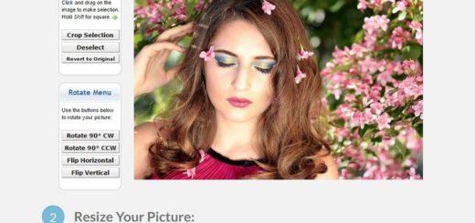 PicResize: web gratuita para editar y aplicar efectos a tus imágenes