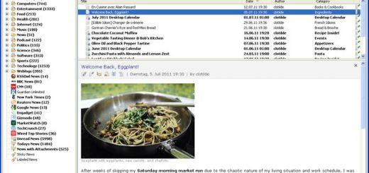 RSSOwl: lector gratuito de feeds RSS con versiones para Windows, Linux y Mac