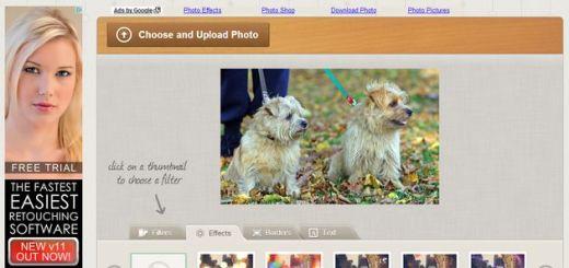 Rollip: efectos, filtros, marcos y textos para aplicar a tus fotos desde el navegador