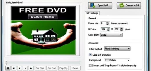 SWF to GIF Animator, convierte animaciones SWF a GIFs animados con este software gratuito