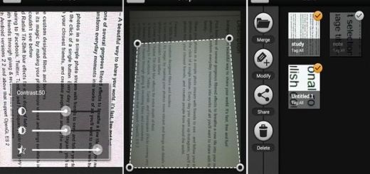Scan Master, escanea documentos con tu Android y guárdalos en PDF