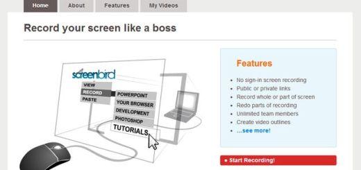 Screenbird: herramienta online para grabar screencasts, publicar los vídeos y compartirlos