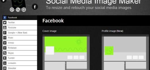 Social Media Image Maker, utilidad web gratuita para crear y editar imágenes para múltiples perfiles sociales