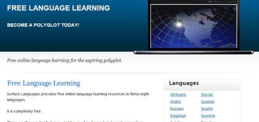 SurfaceLanguages, un sitio lleno de recursos gratuitos para los estudiantes de múltiples idiomas