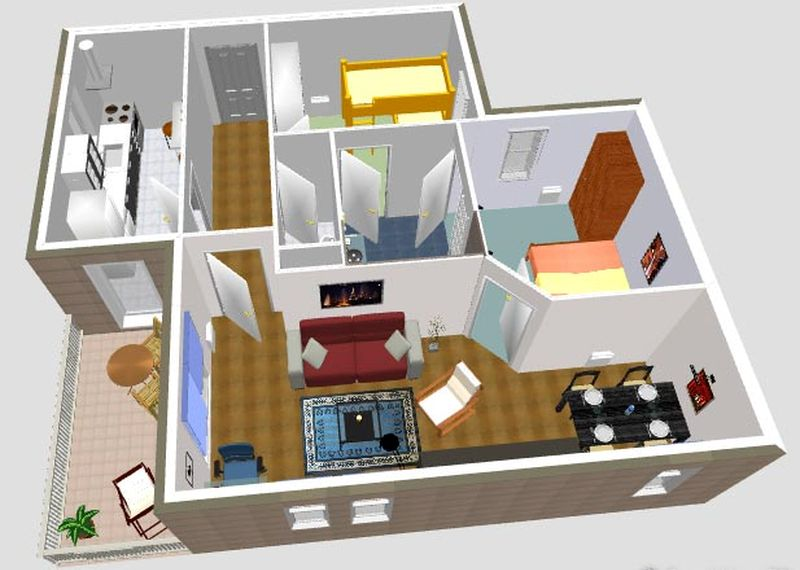 Sweet home 3d software gratuito para dise o de interiores for Programa de decoracion de interiores online