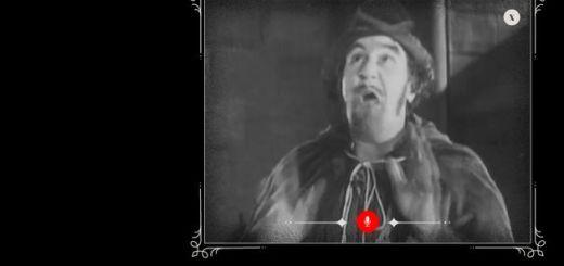 The Peanut Gallery: subtitula películas mudas, en blanco y negro, con tu voz y Google Chrome