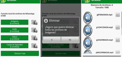 WCleaner: limpia archivos de WhatsApp que no te interesan con esta app para Android