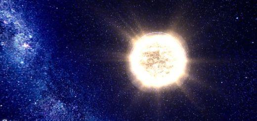 100000 Stars, representación interactiva con la ubicación de más de 100000 estrellas