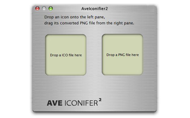 AveIconifier Portable, aplicación gratuita para convertir imágenes PNG a ICO y viceversa