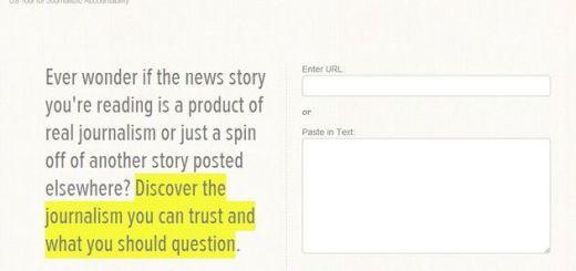 Churnalism, utilidad web para detectar textos copiados de la red