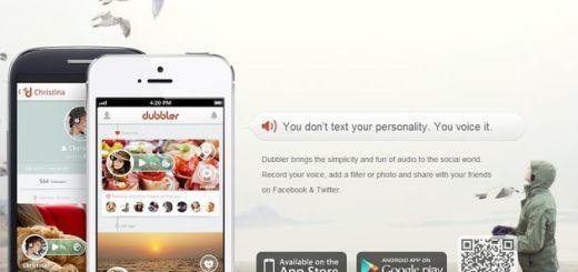 Dubbler: red social móvil para grabar mensajes de voz, aplicarles filtros y compartirlos