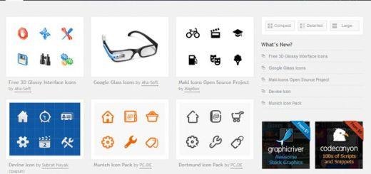 Iconify, directorio con cientos de packs de iconos gratuitos para descargar