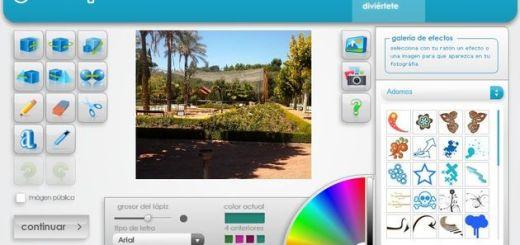 Jewelpic, utilidad web para decorar tus fotografías