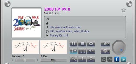 Meltemi, software gratuito con más de 800 emisoras musicales