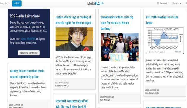 MultiPLX, el lector de feeds que reinventa los clientes RSS