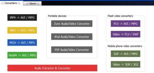 Pazera Video Converters, completa suite de utilidades portables para conversión de audio y vídeo