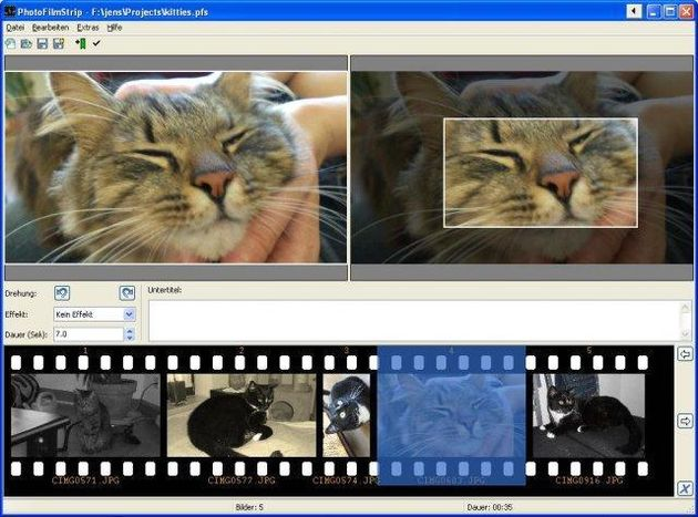 PhotoFilmStrip PhotoFilmStrip, software gratuito para convertir tus fotos en vídeo