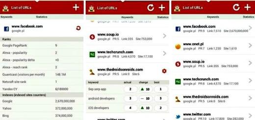 SEO SERP, detallados análisis SEO de tus sitios en Android