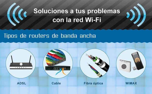Soluciones a tus problemas con la red Wi Fi Una infografía con ocho consejos para optimizar nuestra conectividad WiFi