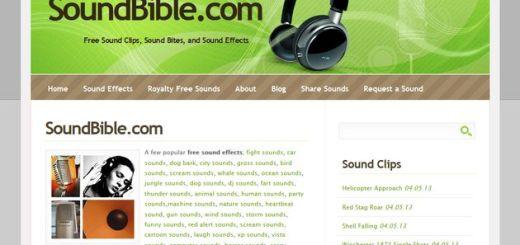 SoundBible, gran colección de sonidos y efectos de sonido gratuitos para descargar