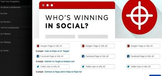 Wildfire Social Media Monitor, compara varias cuentas o perfiles de distintas redes sociales
