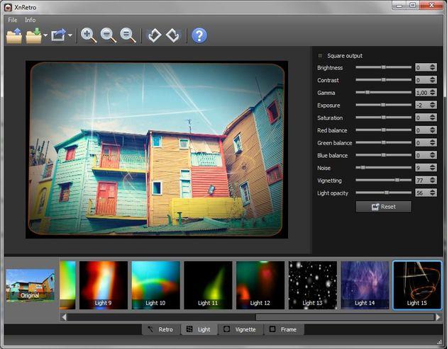 XnRetro, excelente software para aplicar efectos vintage a tus fotos