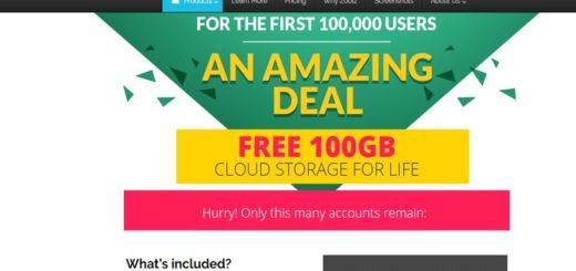 Zoolz: 100 GB de almacenamiento online gratuito para primeros 100000 usuarios