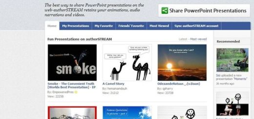authorSTREAM, publica tus PowerPoints directamente en Facebook