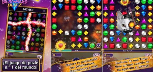 Bejeweled Blitz, el clásico juego de puzzles llega a Android