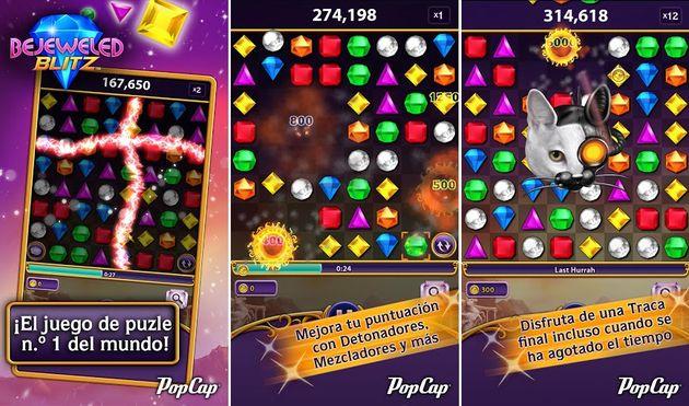 Bejeweled Blitz El Clasico Juego De Puzzles Llega A Android