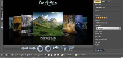 BonAView: visualizador, gestor y editor de imágenes para Windows